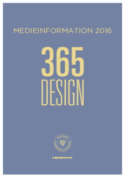365DESIGN medieinformation - DANSK